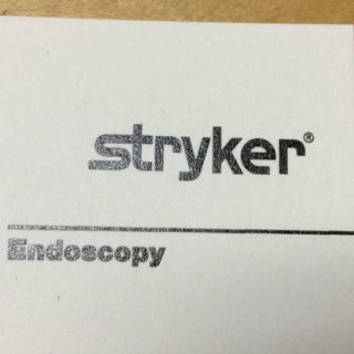 Stryker Endo Janitorial vendor score card