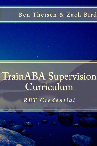 TrainABA - RBT Supervision Contact - Individual Meeting (Copyright BACB. Visit BACB.com for more info.)