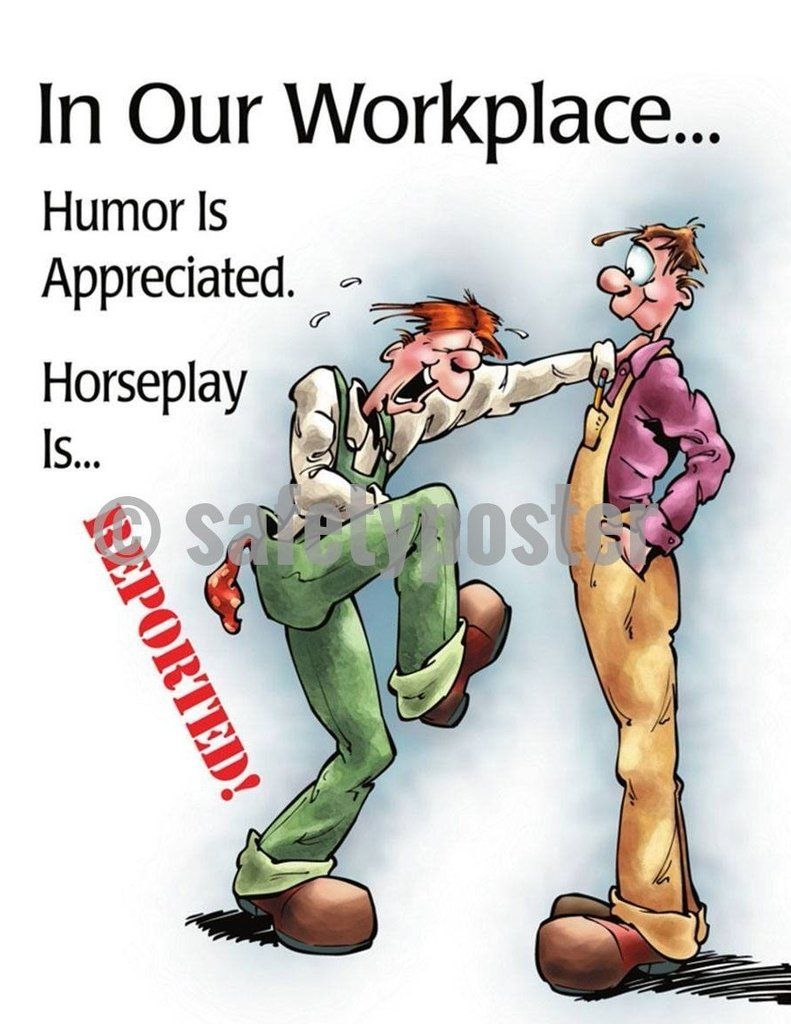 Toolbox Talk: Horseplay Prevention at the Workplace Checklist ...